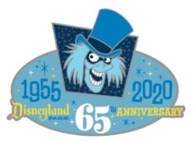 Disneyland 65th Day Of LE Pin