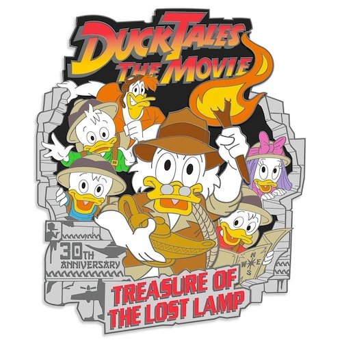 DuckTales Treasure of the Lost Lamp 30th Anniversary Pin