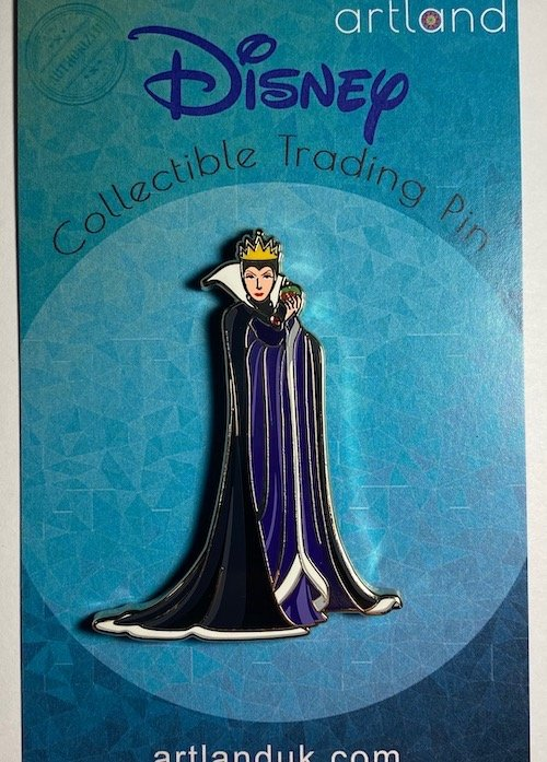 Evil Queen Cut Out ArtLand Pin