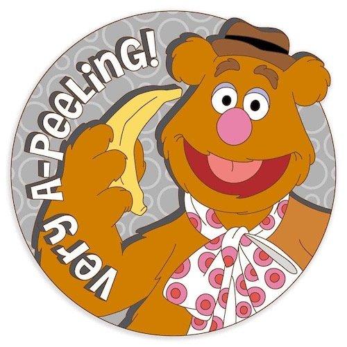Fozzie Bear Disney Scents Pin