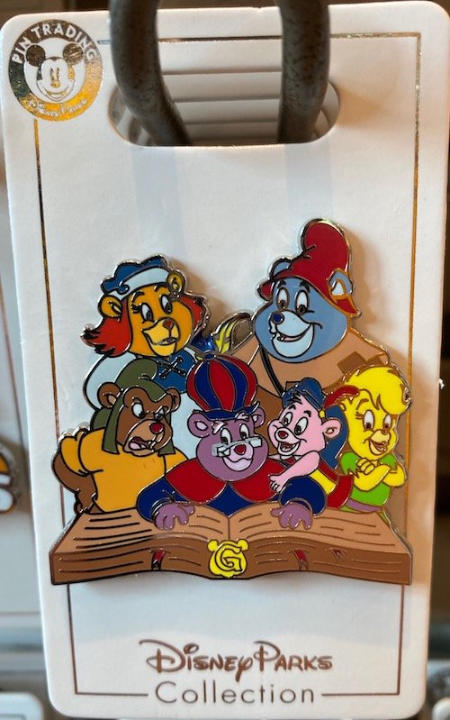 Gummi Bears Disney Pin