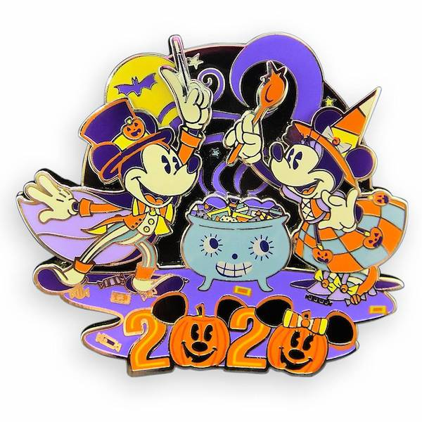 How Many 2020 Disney Halloween Pins Are There Mickey and Minnie Mouse Tricks and Treats Halloween 2020 Pin