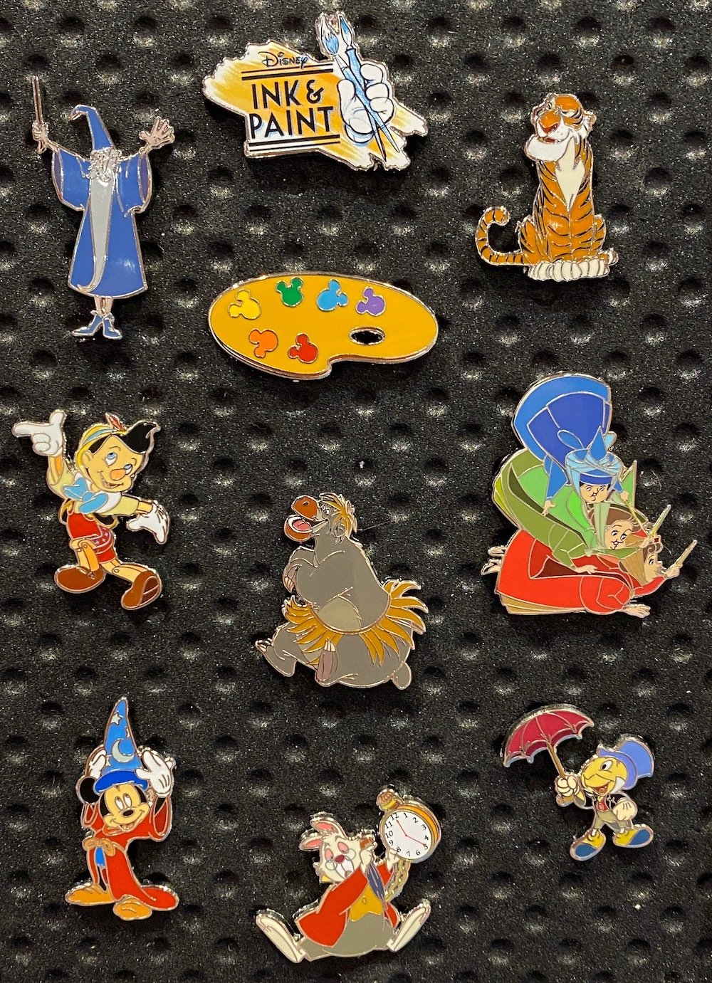 Ink & Paint Mystery Disney Pins