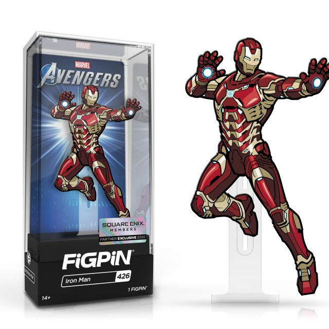 Iron Man FiGPiN Square Enix Exclusive Pin