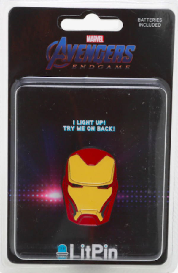Iron Man Light Up Hot Topic Pin