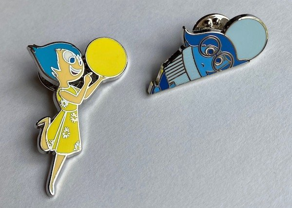 Joy & Sadness Loungefly Pins