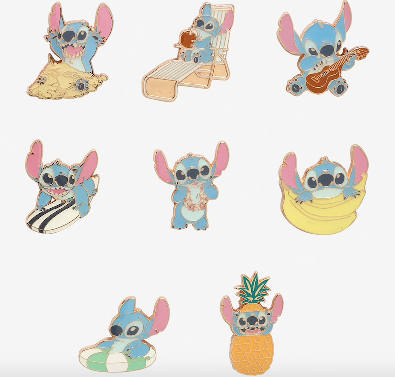 Lilo & Stitch Summer Blind Box Pins at BoxLunch