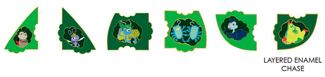 Loungefly A Bug's Life Mystery Pins