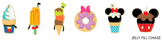 Loungefly Disney Sensational 6 Snacks Mystery Pins