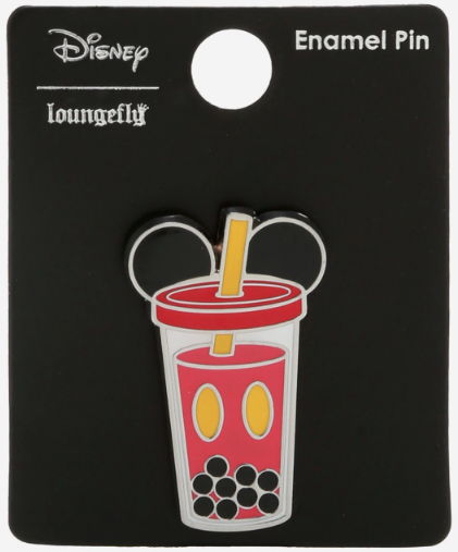 Mickey Mouse Boba Cup BoxLunch Disney Pin
