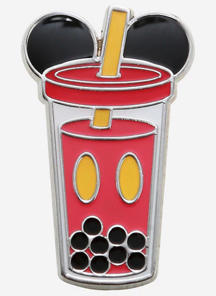 Mickey Mouse Boba Cup BoxLunch Pin