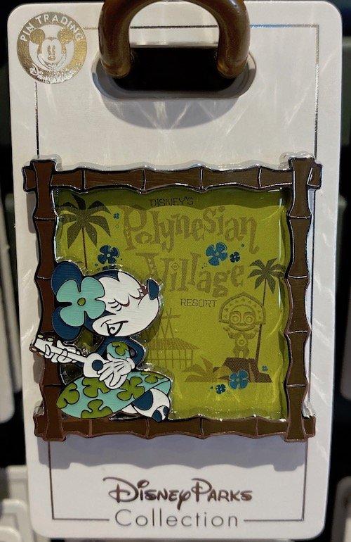 Minnie Mouse Polynesian Village Resort Disney Pin