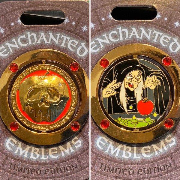 Old Hag Enchanted Emblem Disney Pin