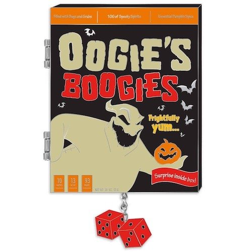 Oogie Boogie Cereal Boxes Disney Pin
