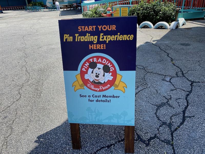 Pin Trading - Disney's Animal Kingdom
