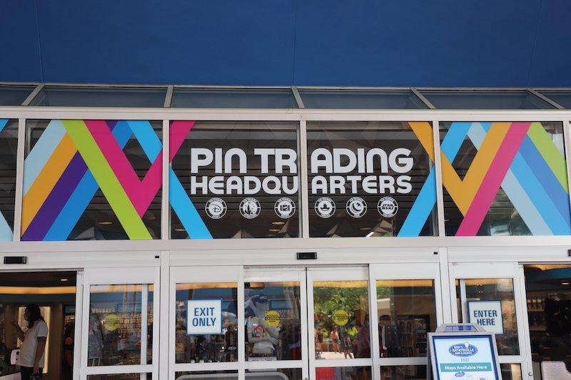 Pin Trading Headquarters - EPCOT