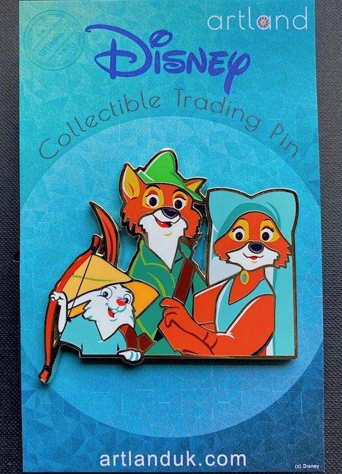 Robin, Marian & Skippy - Robin Hood ArtLand Pin