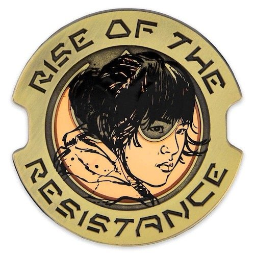 Rose Tico Rise of the Resistance Star Wars Galaxy's Edge Pin