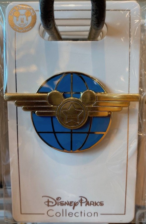 Soarin Wings Globe Disney Pin