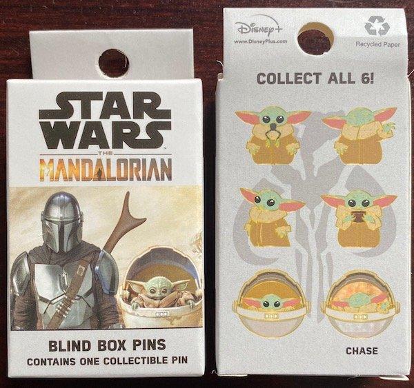 Star Wars The Mandalorian Blind Box Loungefly Disney Pins