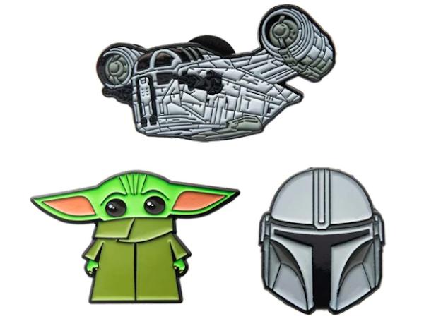 Toynk Star Wars The Mandalorian Pin Set