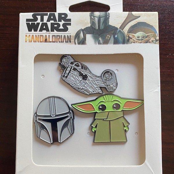 Star Wars The Mandalorian Pin Set Toynk