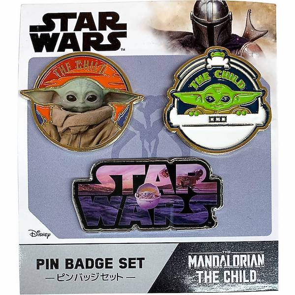 Star Wars The Mandalorian Pin Set at Disney Store Japan