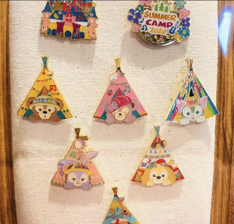Summer Camp 2020 Shanghai Disneyland Mystery Pins