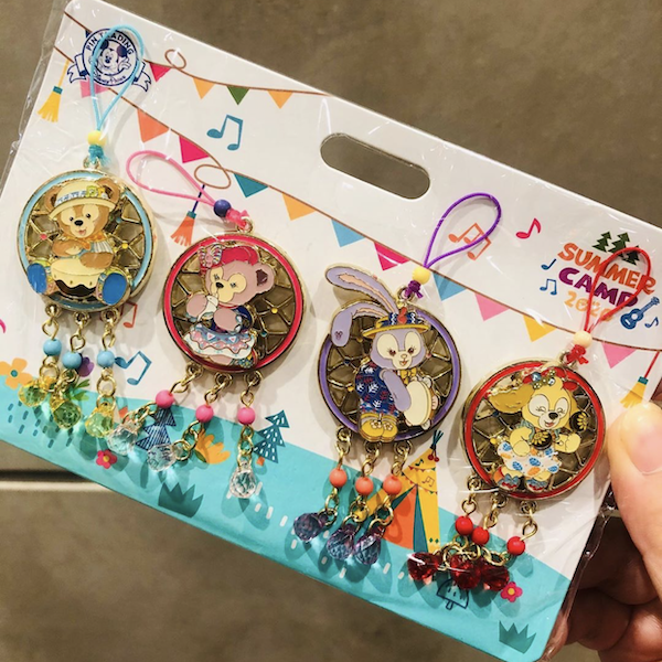 Summer Camp 2020 Shanghai Disneyland Pin Set