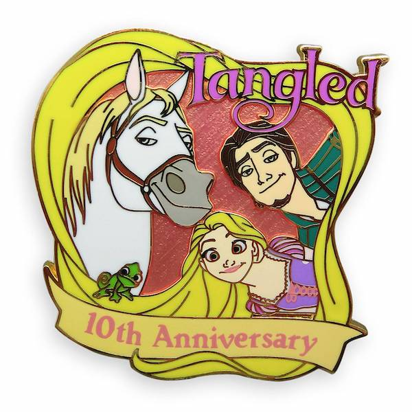 Tangled 10th Anniversary Limited Release Pin