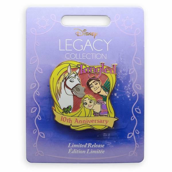 Tangled 10th Anniversary shopDisney Pin