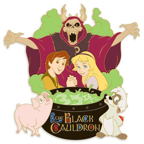 The Black Cauldron 35th Anniversary Disney Pin
