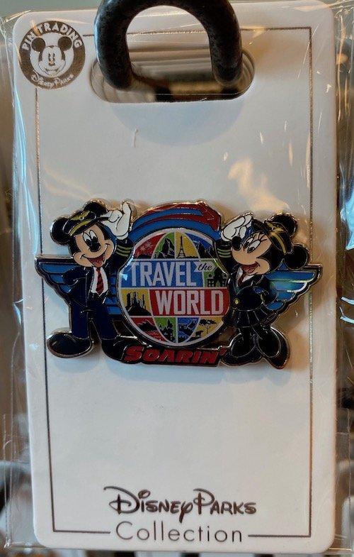 Travel the World Soarin Disney Pin