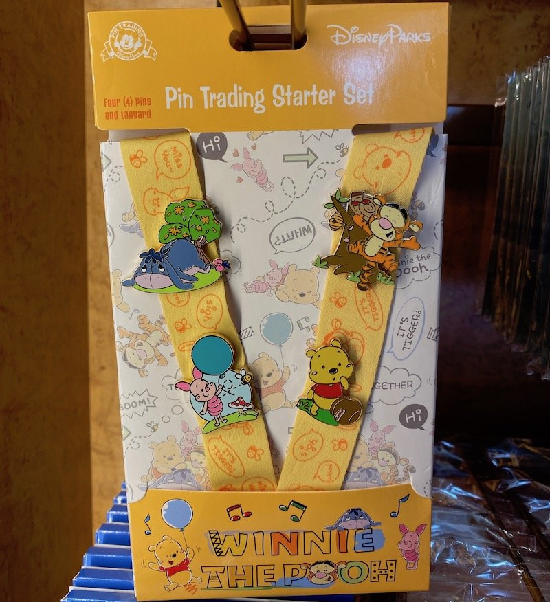 Winnie the Pooh Pin Trading Starter Set