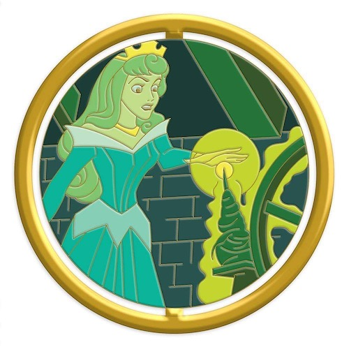 Aurora Enchanted Emblem Disney Pin