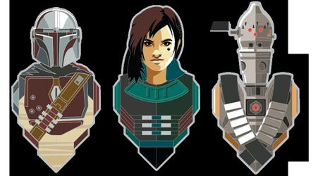 Star Wars Celebration 2020 Pin Set 1: The Mandalorian 3-Pack