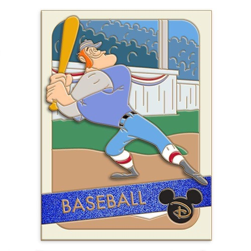 Casey at Bat Baseball Trading Cards Pin