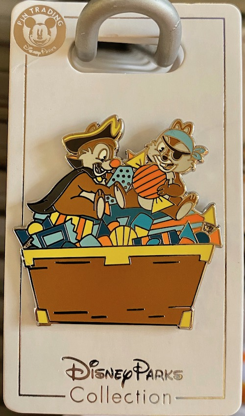 Chip n Dale Halloween 2020 Disney Pin