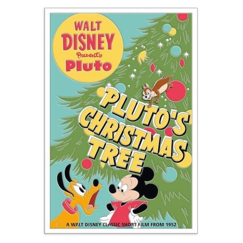 Christmas Tree - Pluto 90th Disney Pin