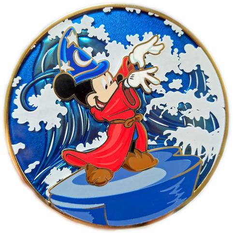 "Conducting Mickey ""D"" Fine Art Pin"