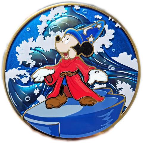 "Conducting Mickey ""F"" Fine Art Pin"