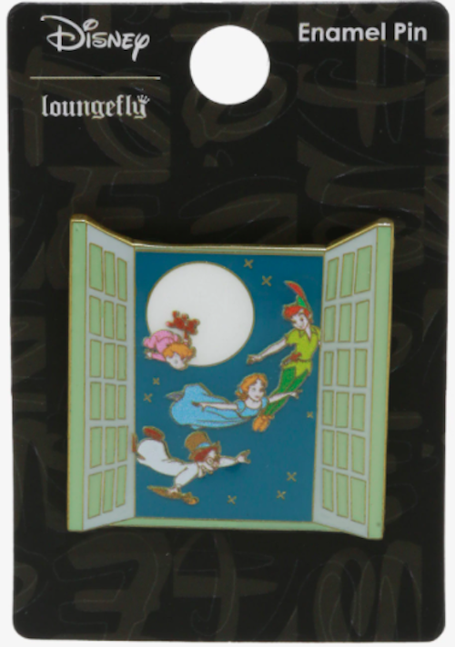 Disney Peter Pan Window Pin