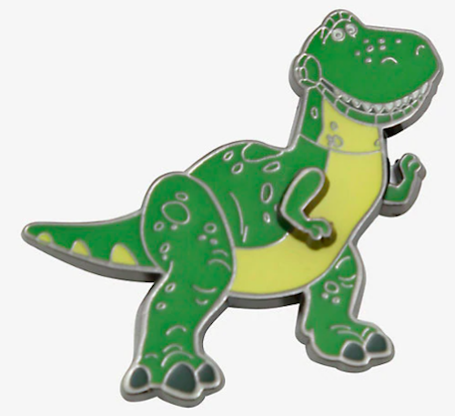 Toy Story Rex Moving Arms Disney Pin BoxLunch