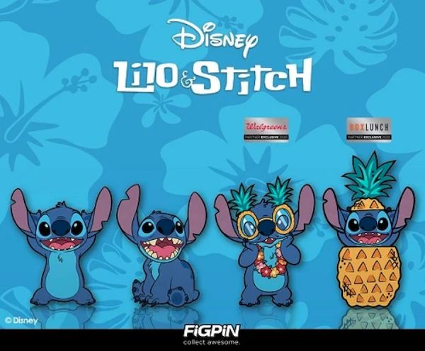 Disney's Lilo & Stitch FiGPiN Series