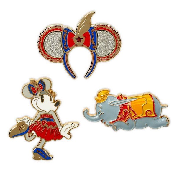 Dumbo Minnie Mouse The Main Attraction Pins