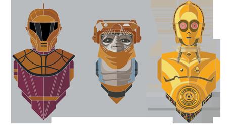 Star Wars Celebration 2020 Pin Set 2: The Rise of Skywalker 3-Pack