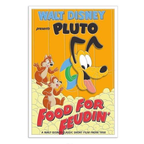 Food For Feudin' - Pluto 90th Disney Pin