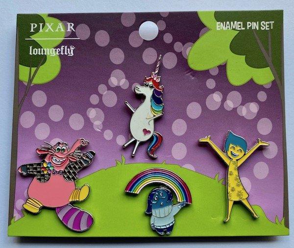 Inside Out Loungefly Disney Pixar Pin Set
