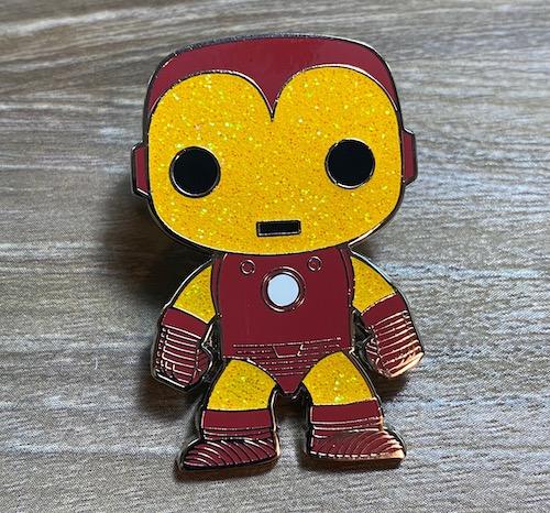 Iron Man Pop! Loungefly Chase Pin
