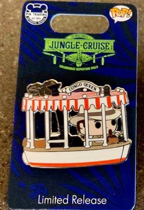 Jungle Cruise Funko Pop! Disney Pin